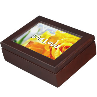 God Love Peace Keepsake Box