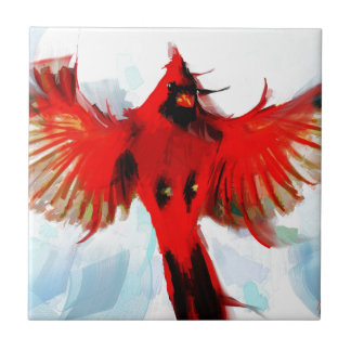 God loved the birds tile