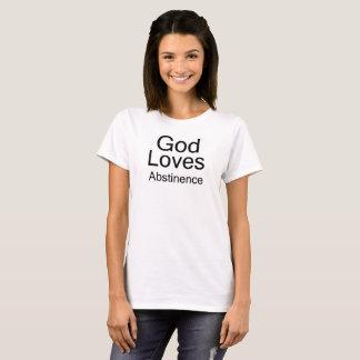 God Loves Abstinence Tee Shirt