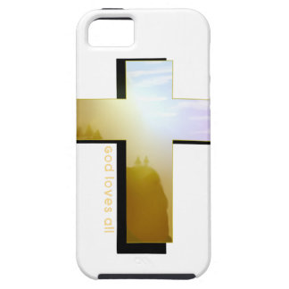 God Loves all Cross Case For The iPhone 5