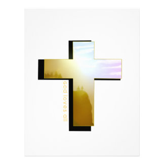 God Loves all Cross Letterhead