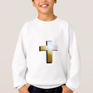 God Loves all Cross Sweatshirt