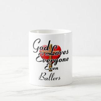 God Loves Ballers Mugs