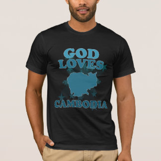God Loves Cambodia T-Shirt