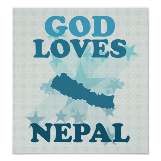 God Loves Nepal Poster