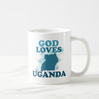 God Loves Uganda Coffee Mug