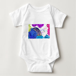 God loves you and me! baby bodysuit