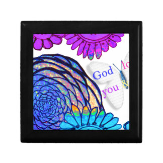 God loves you and me! gift box