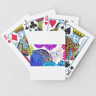 God loves you and me! poker deck