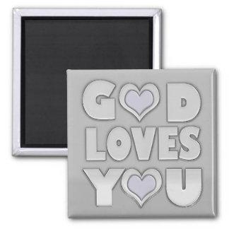 God Loves You Inspirational Magnet