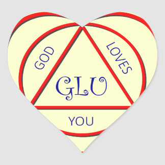 God Loves You Stickers