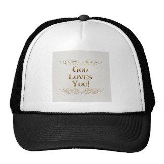 God loves You Trucker Hat
