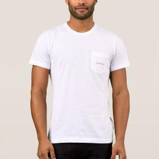 God loves you white pocket t-shirt