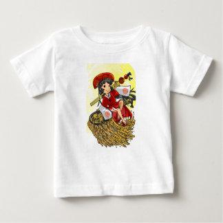God lowering! Miyako way English story Omiya Baby T-Shirt