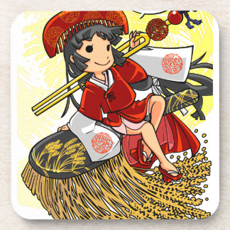 God lowering! Miyako way English story Omiya Beverage Coasters