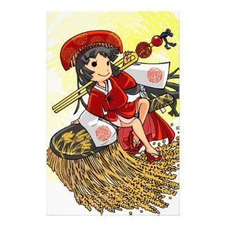God lowering! Miyako way English story Omiya Customized Stationery