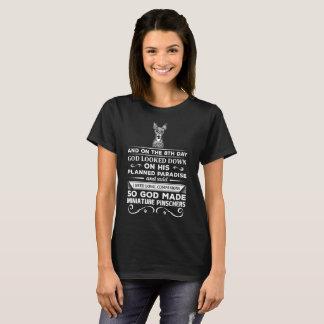 God made Miniature Pinschers Loyal Companions T-Shirt