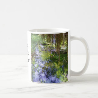 """God made Monet"" mug"