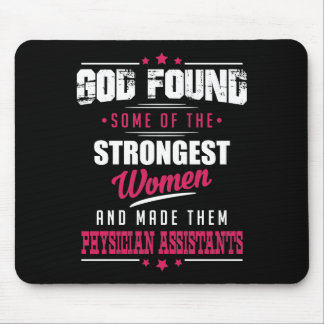 God Made Physician Assistants Hilarious Profession Mouse Pad
