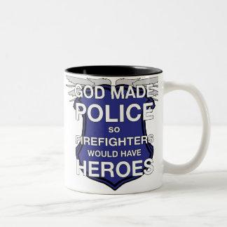 God Made Police Coffee Mug