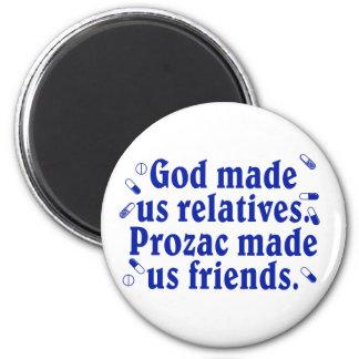 God made us relatives magnet