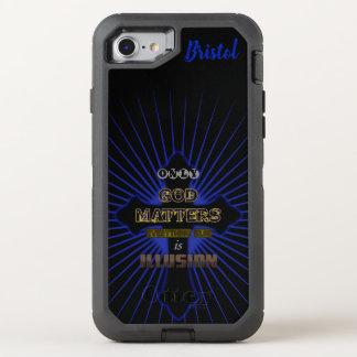 God Matters OtterBox Defender iPhone 8/7 Case