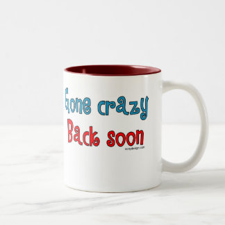 God Must Love Stupid People Two-Tone Coffee Mug