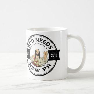 God Needs New PR Mug