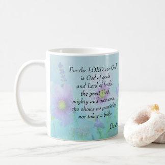 God of gods and Lord of lords, Deuteronomy 10:17 Coffee Mug