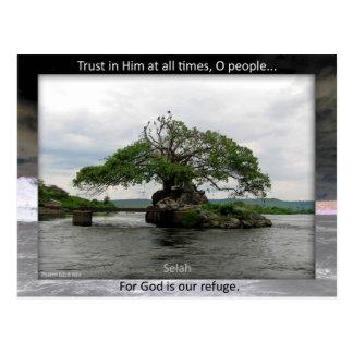 God our Refuge postcard
