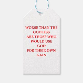 GOD PACK OF GIFT TAGS