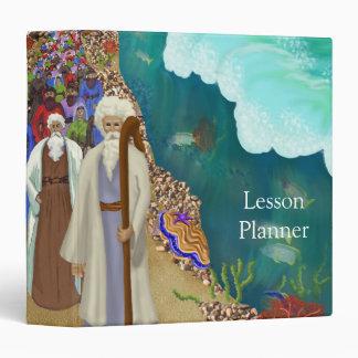 God Parts The Red Sea Lesson Planner 3-Ring Binder