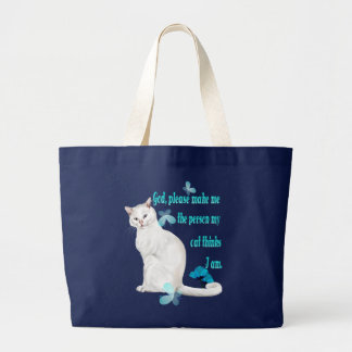 God, please........... large tote bag