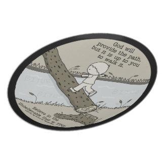 God Provides a Path Plate