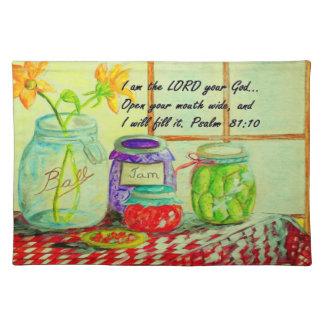 God Provides Placemat