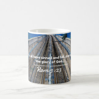 """God Quotes: Rom 3:23 -- """"All Have Sinned"""" Coffee Mug"""