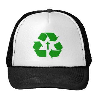 GOD RECYCLES TRUCKER HAT