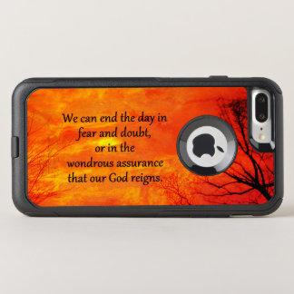 God Reigns iPhone 8/7 Otterbox Plus Case