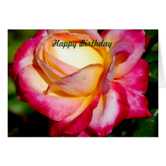 God rejoices in you!/Happy Birthday Card