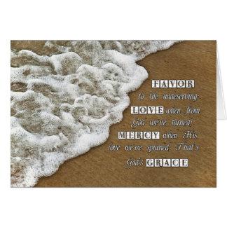 God s Grace Card