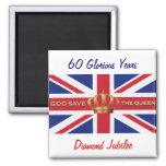 God Save The Queen Magnet Fridge Magnet