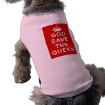 God Save the Queen Tshirts, Bags, Gifts Doggie T Shirt