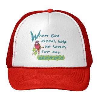 God Sends For My Grandpa© Trucker Hat