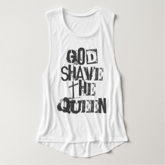 God Shave the Queen Tank Top