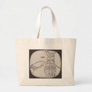 God Sketch Jumbo Tote Bag