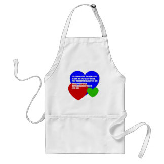 God So Loved the World Bible Verse Apron