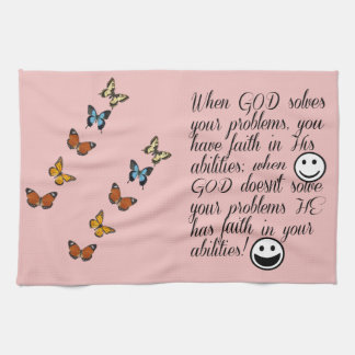 God Solves Your Problem Kitchen Towel
