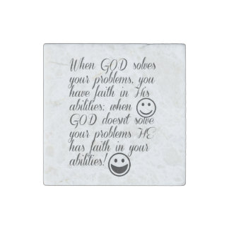God solves your problem stone magnets