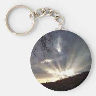 God Speaks Basic Round Button Keychain