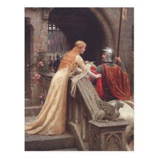 God Speed - Edmund Blair Leighton Post Card